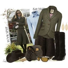 Get the Look: Kate Middleton - Winter Olive Green...