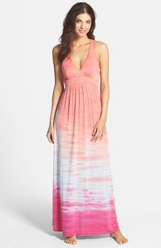 Hard Tail Drop Back Maxi Dress available at #Nordstrom