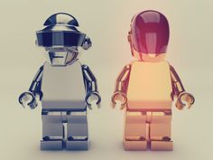 If you know where to buy these Daft Punk LEGO's, please let me know!