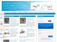 Handmade Jewelry Blog by Jewelry Designer John S Brana