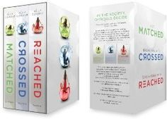 Matched Trilogy box set: Ally Condie - If you like the Hunger Game books, I think you will enjoy these books as well. I read them all in a week. Interesting concept...