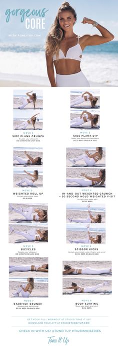 Bikini Series Gorgeous Core Workout