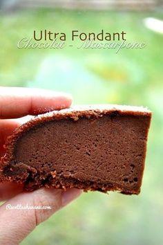 Gateau chocolat-mascarpone façon Cyril Lignac