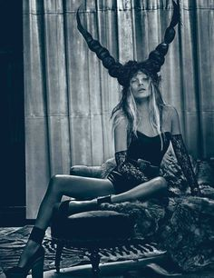 Title: Good Kate, Bad Kate Magazine: W March 2012 Model: Kate Moss Photographer: Craig McDean Stylist: Edward Enninful