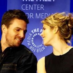 Stephen Amell & Emily Bett Rickards: I'm complete trash, but I don't even care.