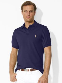 cd337e3779b7 Classic-Fit Polo Shirt - Personalization Classic Fit - RalphLauren.com