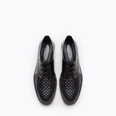 BRAIDED BLUCHER- so much detail, make it a cool, but chic look. With a skinny, cropped pant.