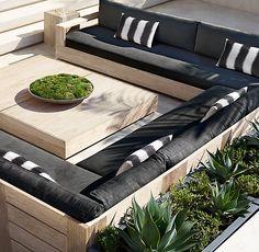 Why Teak Outdoor Garden Furniture? Pallet Garden Furniture, Outdoor Garden Furniture, Outdoor Decor, Rustic Furniture, Antique Furniture, Modern Furniture, Furniture Layout, Furniture Storage, Outdoor Deck Decorating