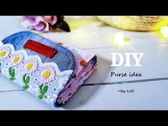 DIY PURSE IDEA / CUTE PURSE TUTORIAL / Old jeans recycle #HandyMum - YouTube Purse Tutorial, Diy Tutorial, Old Jeans Recycle, Diy Purse, Recycled Denim, Cute Purses, Handmade Bags, Valentine Gifts, Recycling