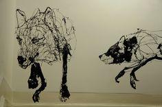 David Oliveira, escultura em arame
