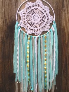 Blue & White Native Tribal Shabby Chic Boho Gypsy by Unicorns4Evaa