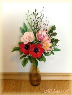 Flower bouquet by Mischell
