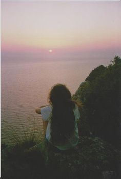 sunrise #sunrise #girl #solitude #photo #photography