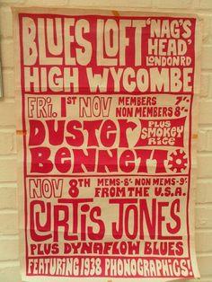 A rare Duster Bennett poster