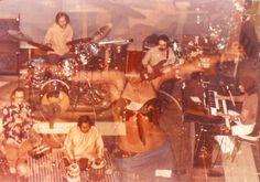 Daina Shukis dancing with the band Kundalini and the famous tabla player Badal Roy.