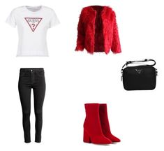 Bez tytułu #101 by wiki208 on Polyvore featuring moda, GUESS and Maison Margiela Fasion, Polyvore, Image, Style, Swag, Stylus, Outfits