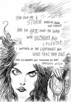I love that Chris Riddell makes art for pleasure -- and in this case took a poem of mine (it's in Trigger Warning) and drew the pictures it threw into his head. It's called Witch Work. Poem Quotes, Words Quotes, Art Quotes, Motto Quotes, Qoutes, Story Inspiration, Writing Inspiration, Writing Folders, Pretty Quotes