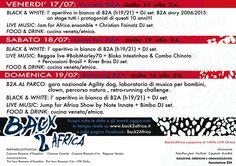 Back2Africa Festival  17/18/19 luglio 2015