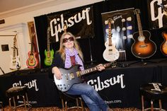 Looking Good! Thank for checking out the @Gibson Guitar showcase at #NMS213!