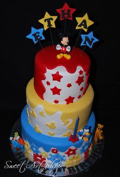 Mickey Mouse 1st Birthday by Sweet Art Shop {Gaby}, via Flickr