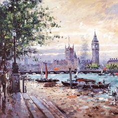View Across the Thames - Henderson Cisz