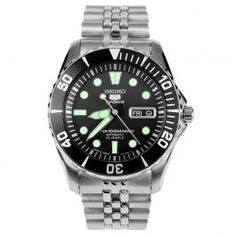 Seiko 5 Sports Automatic Mens Diving Watch SNZF17 SNZF17J Jubilee