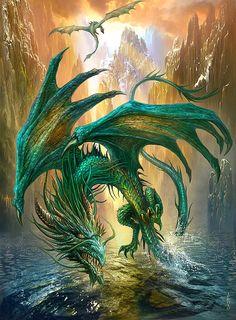 Jan Patrik Krasny #dragón #drague #龍