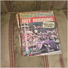 POPULAR HOT RODDING JULY 1968