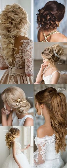 Wedding hairstyle idea; Featured: Elstile...
