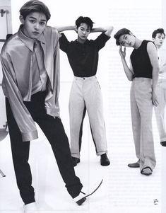 Lucas, doyoung, Jaehyun and Mark