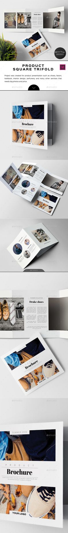 This Is An Easy To Use Turn Key Brochure Template In Indesign