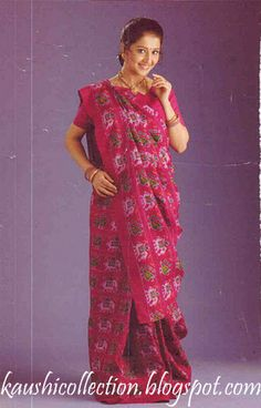 Sparkling Fashion: Different styles of saree draping