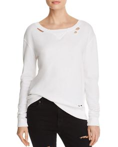 n Philanthropy Joni Distressed Sweatshirt