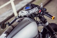 Having owned Viragos ourselves, we know all too well that customising them without treading on anyone's toes can be a tricky endeavour. With some of the industry's best builders all making their mark on Yamaha's innovative stressed-member v-twin, it's damn hard to do anything that people haven't seen a million times before. But with this thought in mind, Sergei from Dutch grinders Ruthless Customz took up tools and created this rather cool and decidedly unique XV interpretatio...