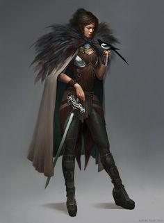 Magpie Thief, Aurore Folny on ArtStation at https://www.artstation.com/artwork/magpie-thief