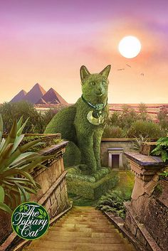The Topiary Cat in Egypt | par Rich Saunders