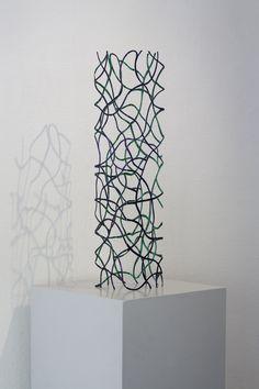 Papierwerk uit 2010 van Marian Smit en Maurice Christo van Meijel (mauricechristo.com)