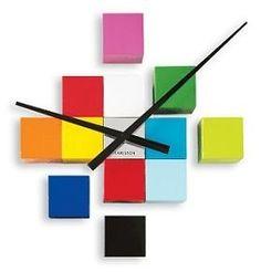 10. Blocks Clock, $88 | 35 Clocks That Look Amazingly Not Like Clocks