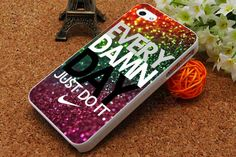 Every Damn Day Nike Just Do It iPhone 5C Case iPhone by USPSSHOP