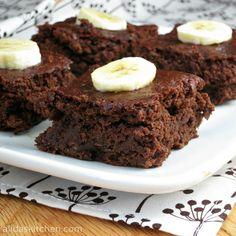 Chocolate Banana Brownies