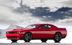 Dodge Challenger Hellcat. Supercharged V8