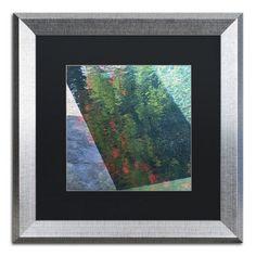 "Trademark Art ""Inspired by Monet"" by Kurt Shaffer Framed Photographic Print Size: 1"