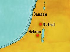 Free Bible illustrations at Free Bible images of Abram (later called Abraham) and Lot sorting out a dispute over grazing land by choosing new places in Canaan to live. Lot is given first choice. (Genesis 13): Slide 12