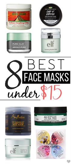 Treat yourself to a little pampering with a face mask! Save your money and opt for one of these affordable 8 best face masks under $15!