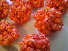 Mary's Jello Popcorn Balls