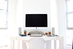 55 Awesome Home Office Design Ideas Make Improve Your Productivity, An office is easily the most vital thing for a person's degree of work ethic and productivity. Your home office may not really be the best situation t. Home Office, Office Desk, Workspace Desk, Desk Setup, Office Spaces, Office Furniture, Design Sites, Web Design, Design Services