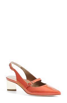 ab3d3d1a1d8 M&S Leather Stiletto Heel T-Bar Slingback Shoes Two-tone shoes ...