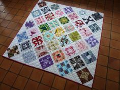 Farmer's Wife Quilt - finished by -Vivie-, via Flickr