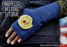 Wristwarmers, Handwarmers, Fingerless Gloves... whatever you want to call them, they are almost always welcome this time of year!