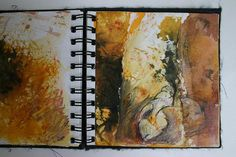 Cas Holmes: Small sketchbook themed around the coast
